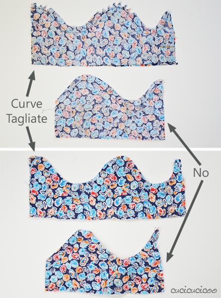 Rivoltare e Impunturare: Impara a Cucire a Macchina, Lezione 6. Come e perché farlo, come tagliare angoli/curve, come usare il piedino orlo invisibile per impunture perfette! Tutte le lezioni a www.cucicucicoo.com