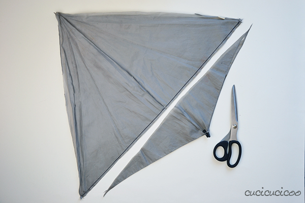 http://www.cucicucicoo.com/2014/10/tutorial-remove-fabric-from-umbrellas/