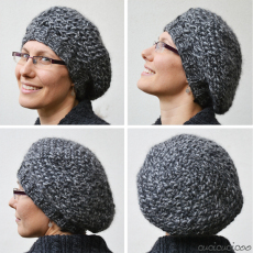 Crochet hats: the Ayer's Rock pattern and a slouchy beret   www.cucicucicoo.com