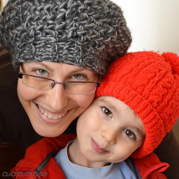 Crochet hats: the Ayer's Rock pattern and a slouchy beret | www.cucicucicoo.com