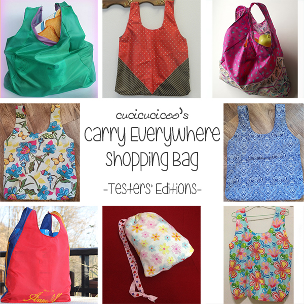 Free Pattern: Carry Everywhere Shopping Bag - Cucicucicoo