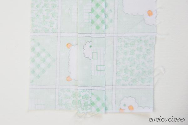 """Come usare il piedino doppio trasporto. Con questo piede diventa possibile cucire strati spessi e tessuti scivolosi o appiccicosi, e anche tenere allineate strisce e quadri! Parte del corso """"Impara a Cucire a Macchina"""" da www.cucicucicoo.com"""