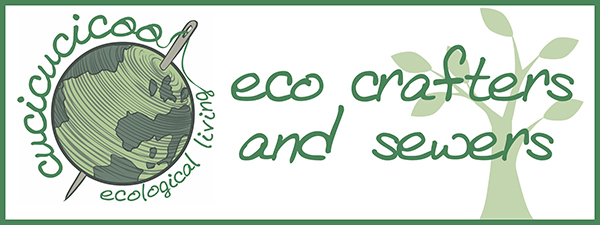 Cucicucicoo's Eco Crafters and Sewers: a series of guest posts with crafting and sewing tutorials using upcycled materials | www.cucicucicoo.com