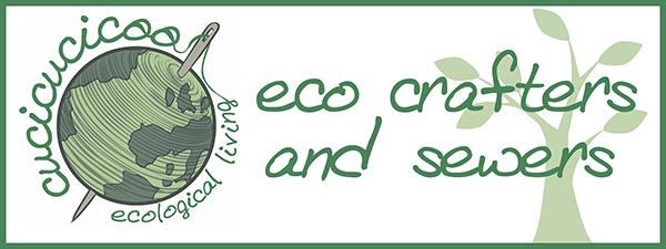 Cucicucicoo's Eco Crafters and Sewers: una serie di guest post con tutorial di crafting e cucito utilizzando materiali di recupero | www.cucicucicoo.com
