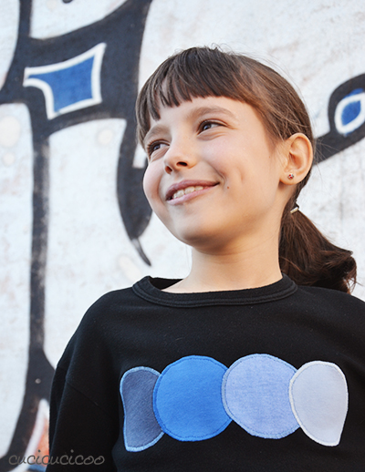 Impara a Cucire a Macchina: Come fare applicazioni su una maglietta per coprire logo, macchie o strappi. Un trucco semplice per fare appliqué perfette ogni volta! www.cucicucicoo.com