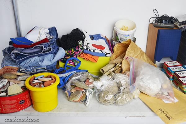 La mia stanza per il cucito e i craft: progetti da completare. www.cucicucicoo.com