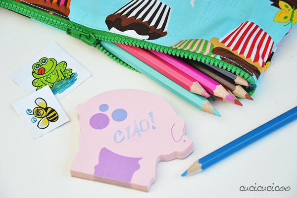 Impara a Cucire: Come cucire un astuccio semplice con cerniera per le matite, gli uncinetti, i trucchi o altro. O cambia le dimensioni per fare una federa per un cuscino! Ottima idea regalo! www.cucicucicoo.com