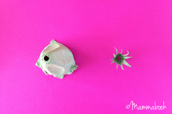 DIY tutorial: How to make Flower Fairies from upcycled egg cartons | a Mammabook tutorial for www.cucicucicoo.com