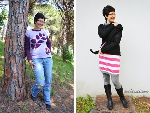 Me-Made-May 2015 challenge: what I wore May 1 - 16 | www.cucicucicoo.com