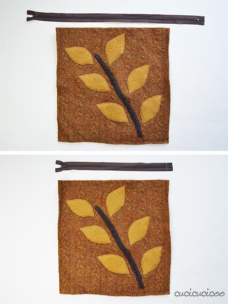 Come accorciare una cerniera in meno di un minuto! Un mini-tutorial di www.cucicucicoo.com