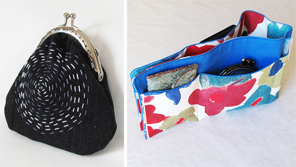 Sew a change purse or bag organizer! www.cucicucicoo.com
