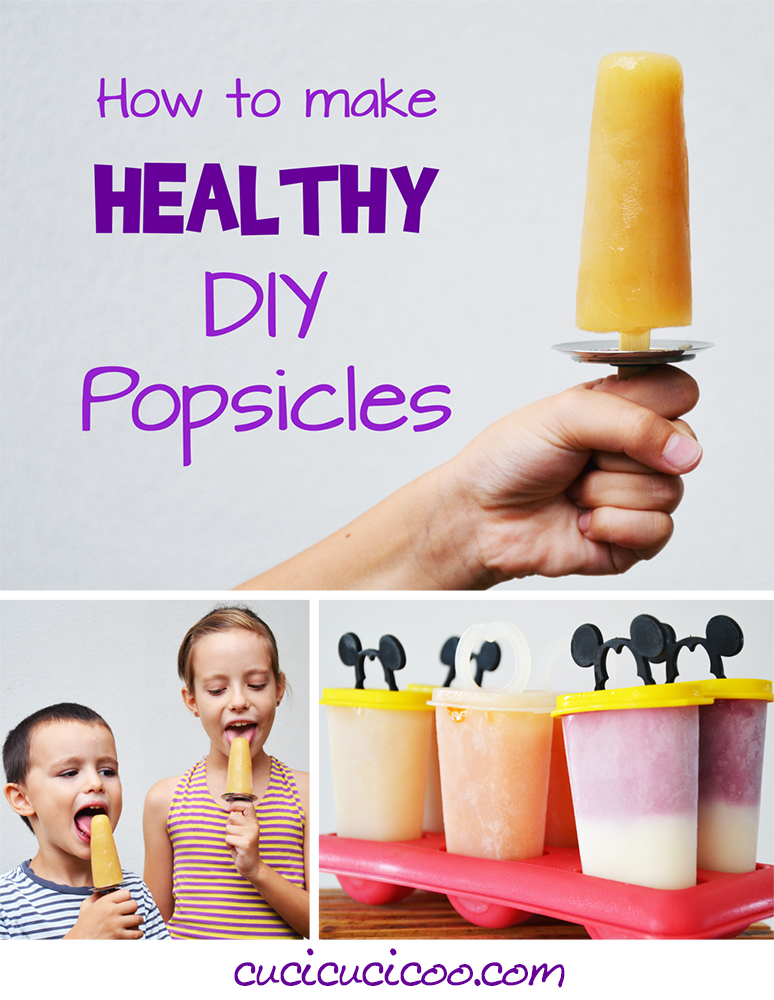 How to make healthy DIY popsicles: a fun and no-guilt way to cool down with kids in the summer!