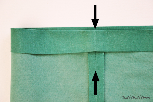 How to sew an elastic waistband with a casing. Part of the Learn to Machine Sew series on www.cucicucicoo.com!