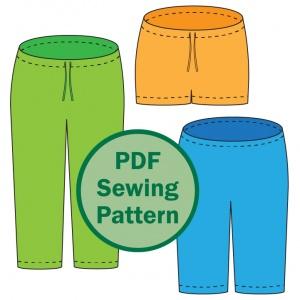 Evening Primrose pajama pants for women_thumb_color