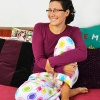 PDF sewing pattern: Oenothera Biennis Pajama Pants for women by Cucicucicoo Patterns - fleece pants - www.cucicucicoo.com