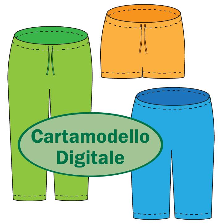 Cartamodello PDF: Primula della Sera Pantaloni di Pigiama da donna   Cucicucicoo Patterns   www.cucicucicoo.com