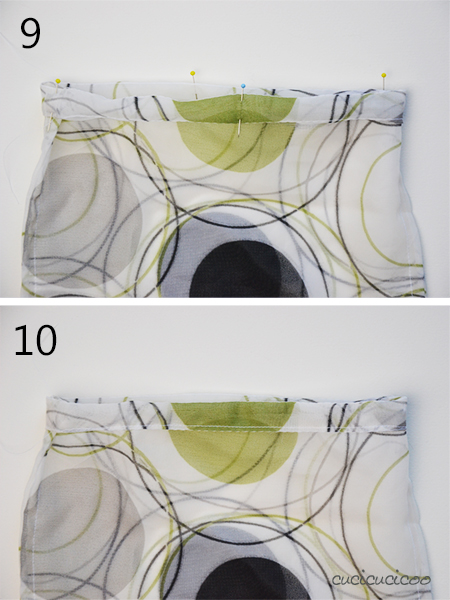 Never use a plastic bag for your fruit and veggies again! Here's how to sew reusable produce bags in two different ways! www.cucicucicoo.com
