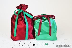 Tutorial: fa dei sacchetti regalo da materiali di recupero. www.cucicucicoo.com