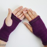 Tepore knit wrist warmers