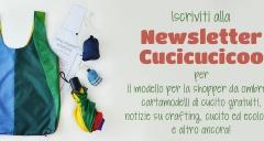 Iscriviti Alla Newsletter Di Cucicucicoo Per Ricevere Cartamodelli Gratuiti, Tutorial Di Cucito E Crafting, E Tanto Altro! Www.cucicucicoo.com