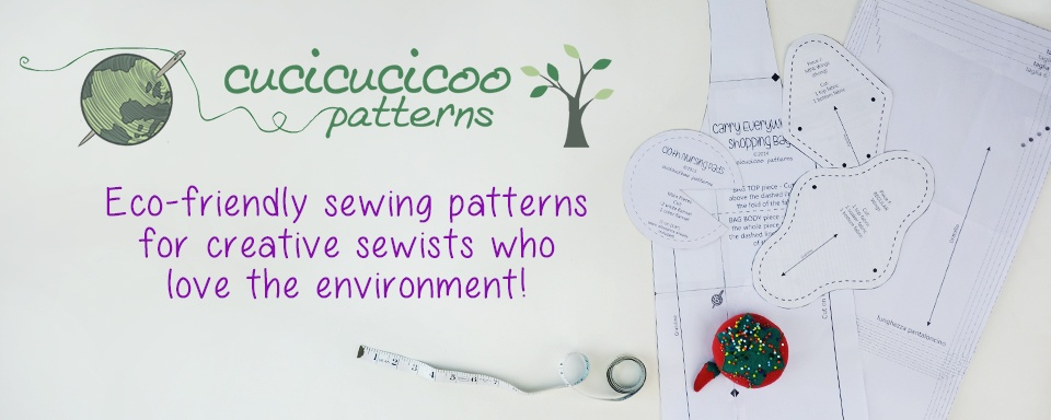 Cucicucicoo Patterns: Eco-Friendly Sewing Patterns For Creative Sewists Who Love The Environment! Www.cucicucicoo.com