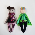 Perfectly Imperfect: a fabric doll pattern review