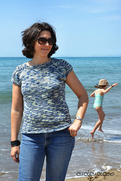 knitting pattern for summer sweater