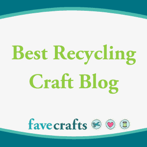 Cucicucicoo.com is one of Fave Crafts' 10 best recycling craft blogs!