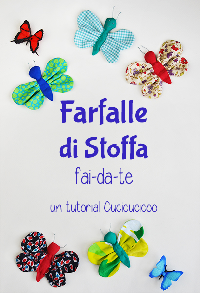 Tutorial come fare una farfalla di stoffa fai da te for Tutorial fermaporta di stoffa