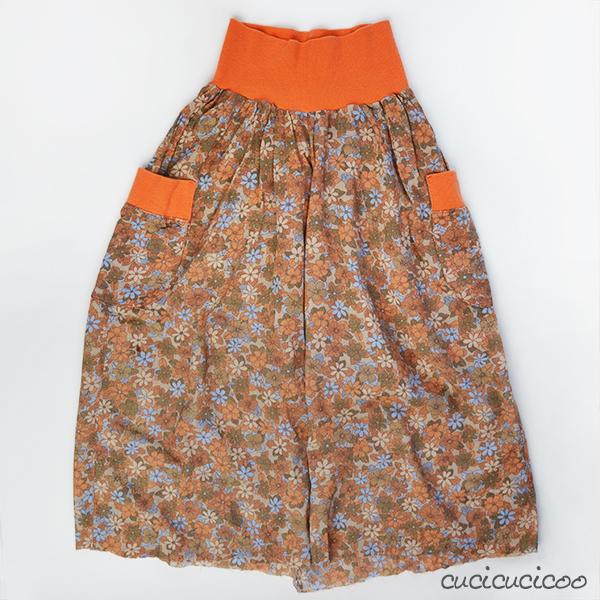 Pants Into Skirt 120