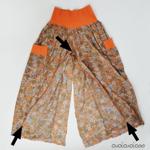 Pants Into Skirt 96
