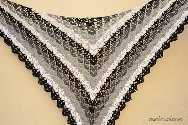 Crochet Pattern Your First Breath : Evening Breath: free summer shawl crochet pattern ...