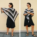 Evening Breath: free summer shawl crochet pattern