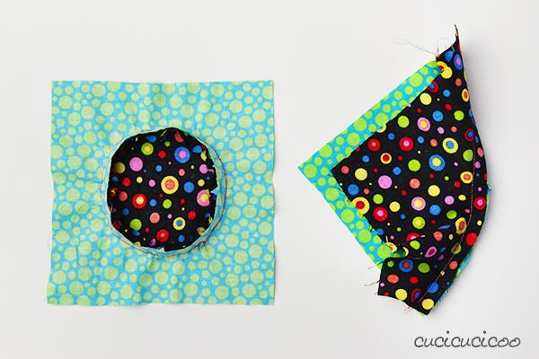 È semplice cucire le curve concave e convesse assieme (o un cerchio) con un trucco utile. Impara come con un cartamodello gratuito per una presina carina! Parte del corso gratis Impara a Cucire a Macchina su www.cucicucicoo.com!