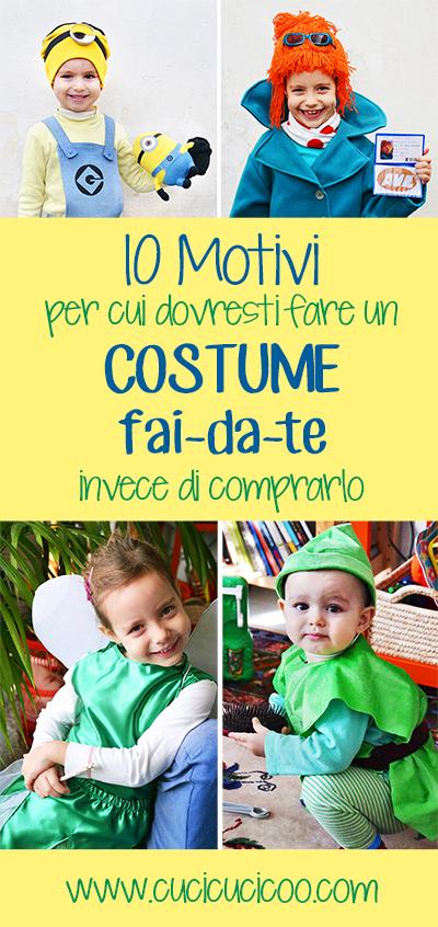 10 motivi per cui dovresti fare un costume fai da te invece di comprartelo: lezioni imparate da mia madre. www.cucicucicoo.com