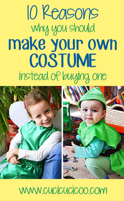 10 reasons why you should make your own costume instead of buying one: lessons learned from my mother. #diycostumes #handmadecostumes