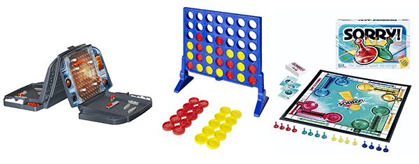 Battleship, Connect Four, Sorry!: The 17 BEST non-electronic games for young children with limited or no reading or math skills. www.cucicucicoo.com