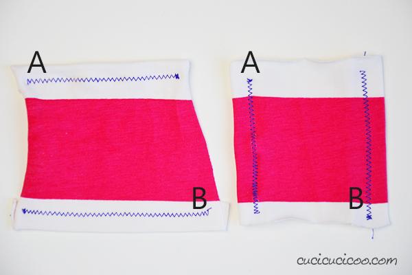 Impara a cucire la maglina perfettamente! Stirare con il vapore caldo elimina le cuciture distorte. Altre dritte a www.cucicucicoo.com