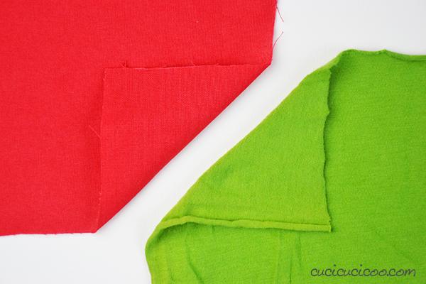 Impara a cucire la maglina perfettamente! La differenza tra i tessuti a navetta e a maglia. Altre dritte a www.cucicucicoo.com