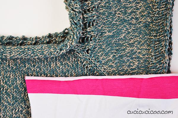 Impara a cucire la maglina perfettamente! La maglina confrontato con un maglione a maglia rasata. Altre dritte a www.cucicucicoo.com