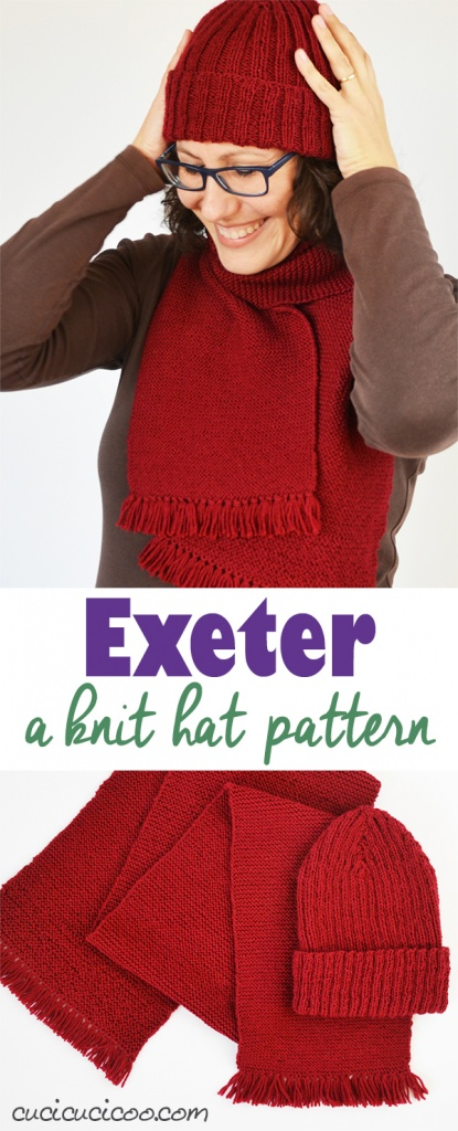 What knitting the Exeter hat taught me: making mistakes is ok, not only to learn to do things better, but also to learn to embrace imperfection and the act of learning itself.