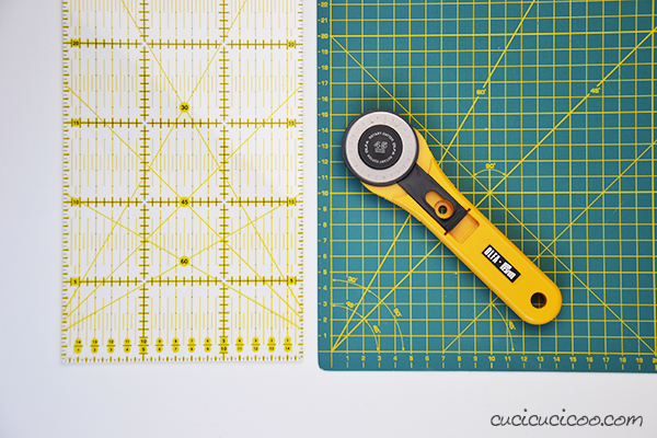 The best sewing tools for working faster with professional results. Using a rotary cutter with a quilter's rule on a self-healing cutting mat makes precise cuts in a fraction of the time!