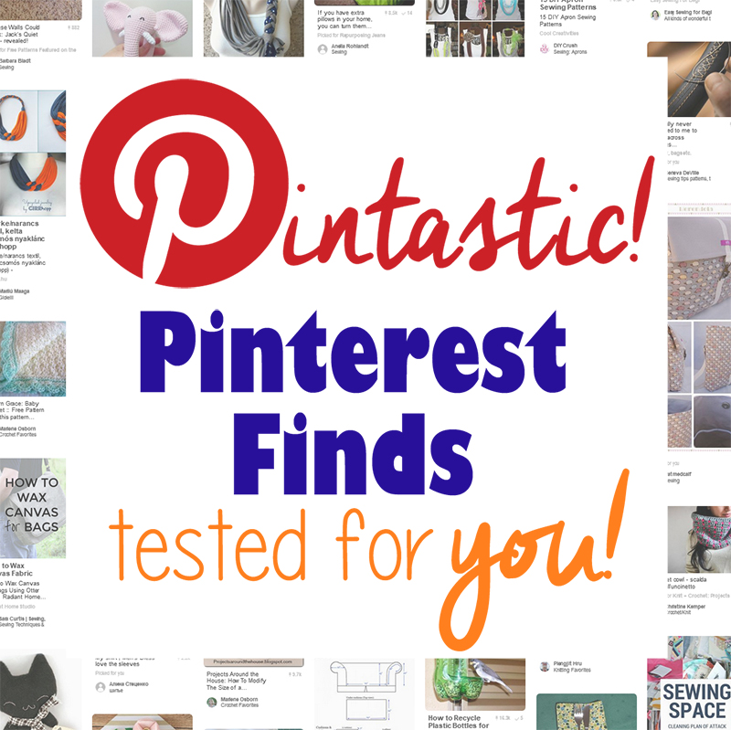 A collection of tested Pinterest DIY tutorials. The Pintastic! Pass or Fail verdict will help you have no-fail crafting, sewing and cooking every time!