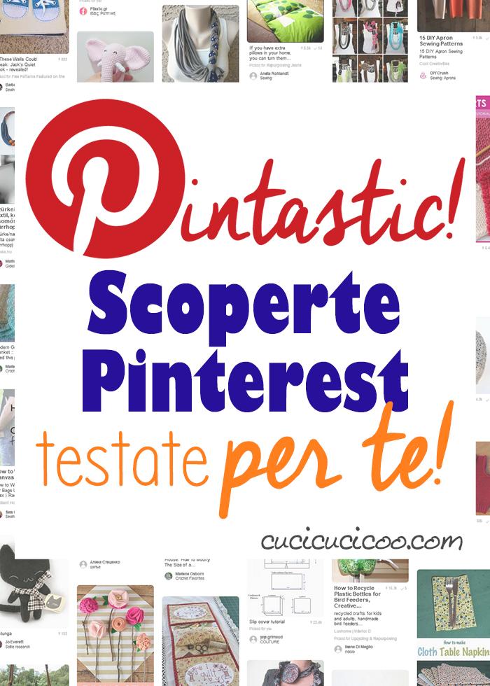 Una raccolta di tutorial fai da te trovati su Pinterest, testati e provati per te! Il verdetto ti permette di creare, cucire e cucinare ogni volta senza problemi!