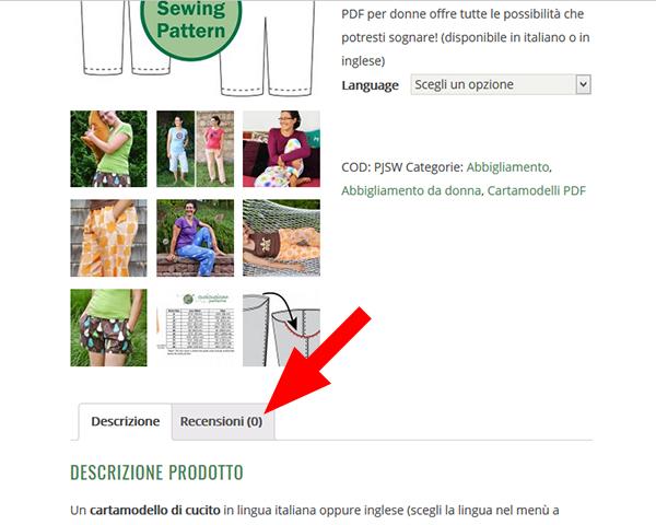Lascia una recensione ai cartamodelli in italiano di Cucicucicoo Patterns e avrai subito uno sconto del 10% valido su TUTTI i prodotti dello shop!