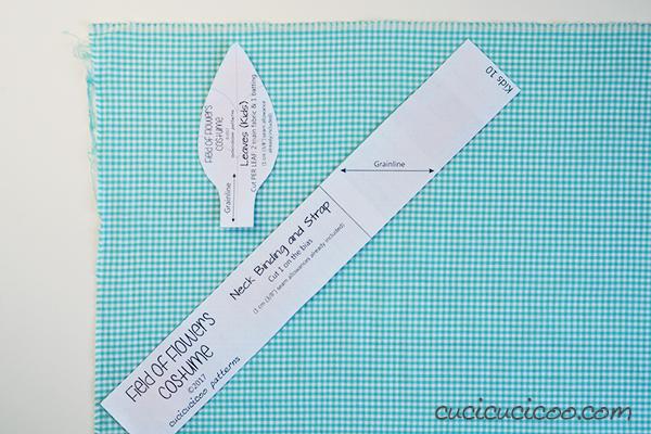Qual'è la differenza tra tagliare il tessuto sul drittofilo e sullo sbieco? Impara come usare lo sbieco, quando è utile e come tagliarlo perfettamente! www.cucicucicoo.com