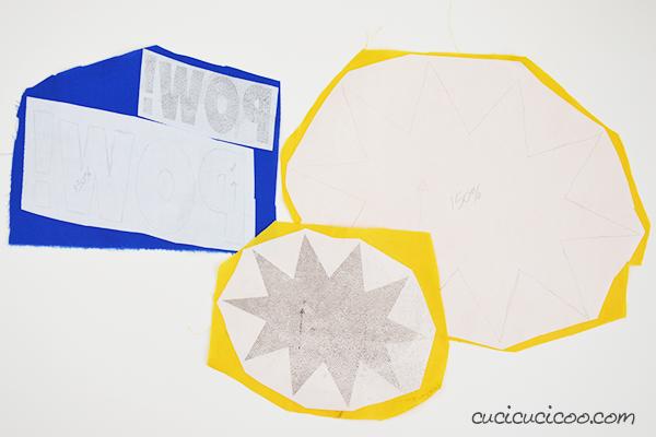 Cuci applicazioni nel modo più facile… con l'aiuto dello stampante! Impara come stampare un applique sulla carta termoadesiva per trasferire i disegni senza doverlo fare a mano! www.cucicucicoo.com