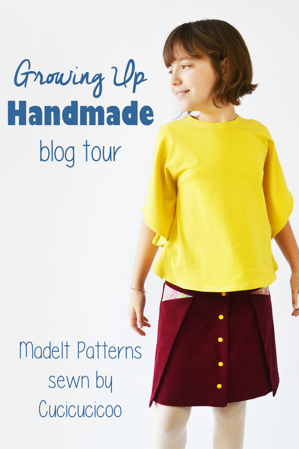 208734db5 Growing Up Handmade - sewing clothes for tweens - Cucicucicoo