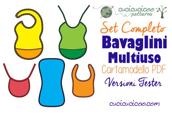 Cerchi il cartamodello di bavette perfetto per la tua famiglia? Guarda come i tester del Set Completo Bavaglini Multiuso hanno personalizzato il modello di Cucicucicoo Patterns! www.cucicucicoo.com
