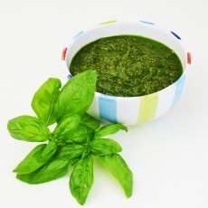 Make delicious homemade basil pesto with this foolproof recipe and then find 15 mouthwatering ways to use it for your family's meals! Sooo good!